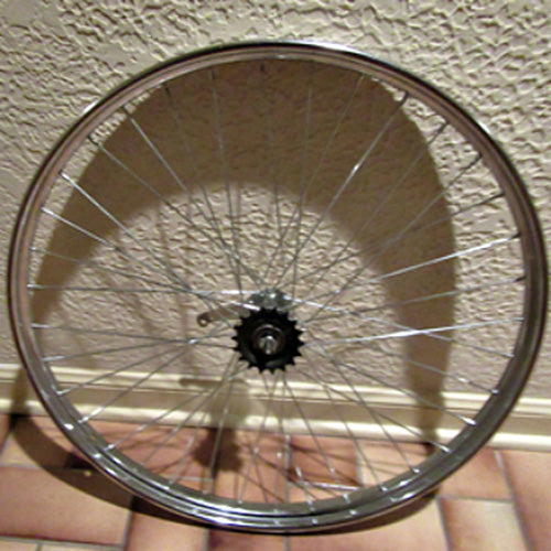 Heavy Duty Industrial Rear Bicycle Wheel Large view