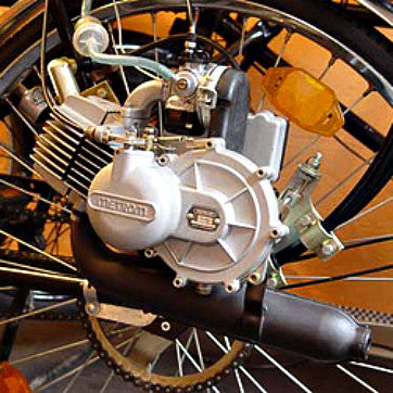 Original Metrom Bicycle Engine from Romania