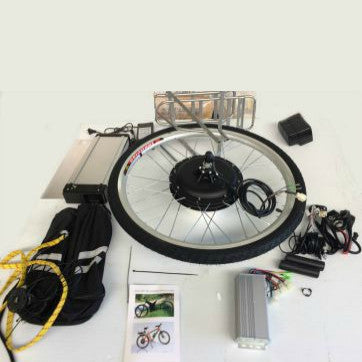Twenty Six Inch Electric Motorized Bicycle Wheel