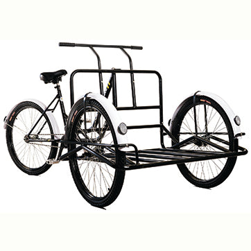 Bike Bug® New & Improved Platform Cargo Tricycle Angle View