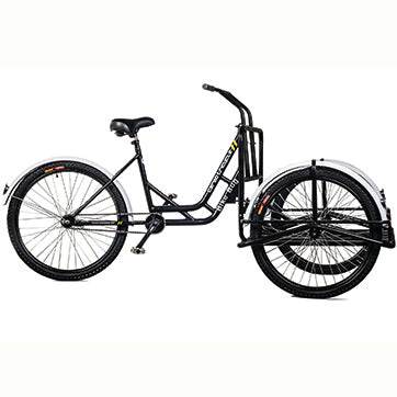 Bike Bug® New & Improved Platform Cargo Tricycle Side View