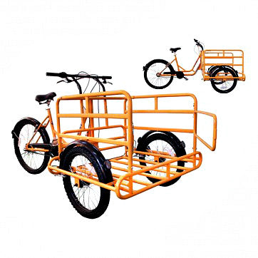 Deluxe Carrier Three Speed Cargo Tricycle