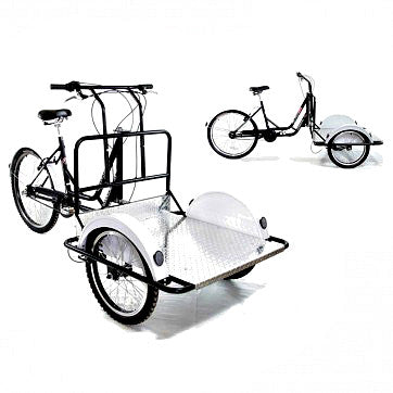 Deluxe Versa Three Speed Cargo Tricycle