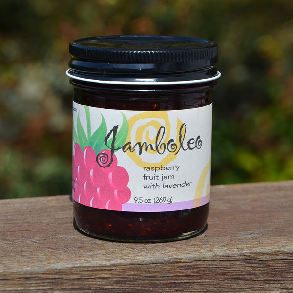 Raspberry Jam with Lavender, 9.5 oz