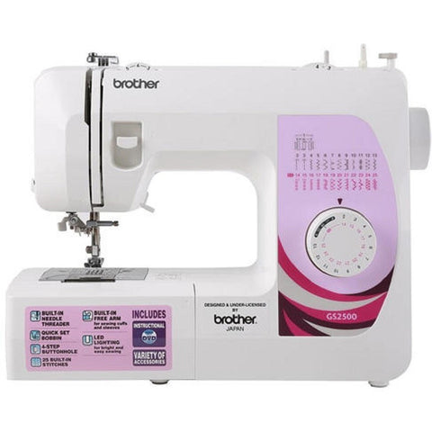 Máy May Brother GS2500 - Máy May Đa Năng Brother GS2500 (Sewing Machine) -  Máy May Máy May Đa Năng Brother