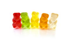 Widdles Candy: Yummy Gummy's