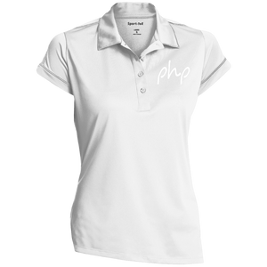 Embrodered Sport-Tek Ladies' Contrast Stitch Performance Polo