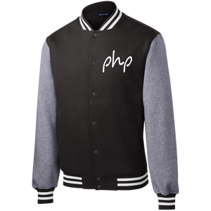 Signature PHP Fleece Letterman Jacket
