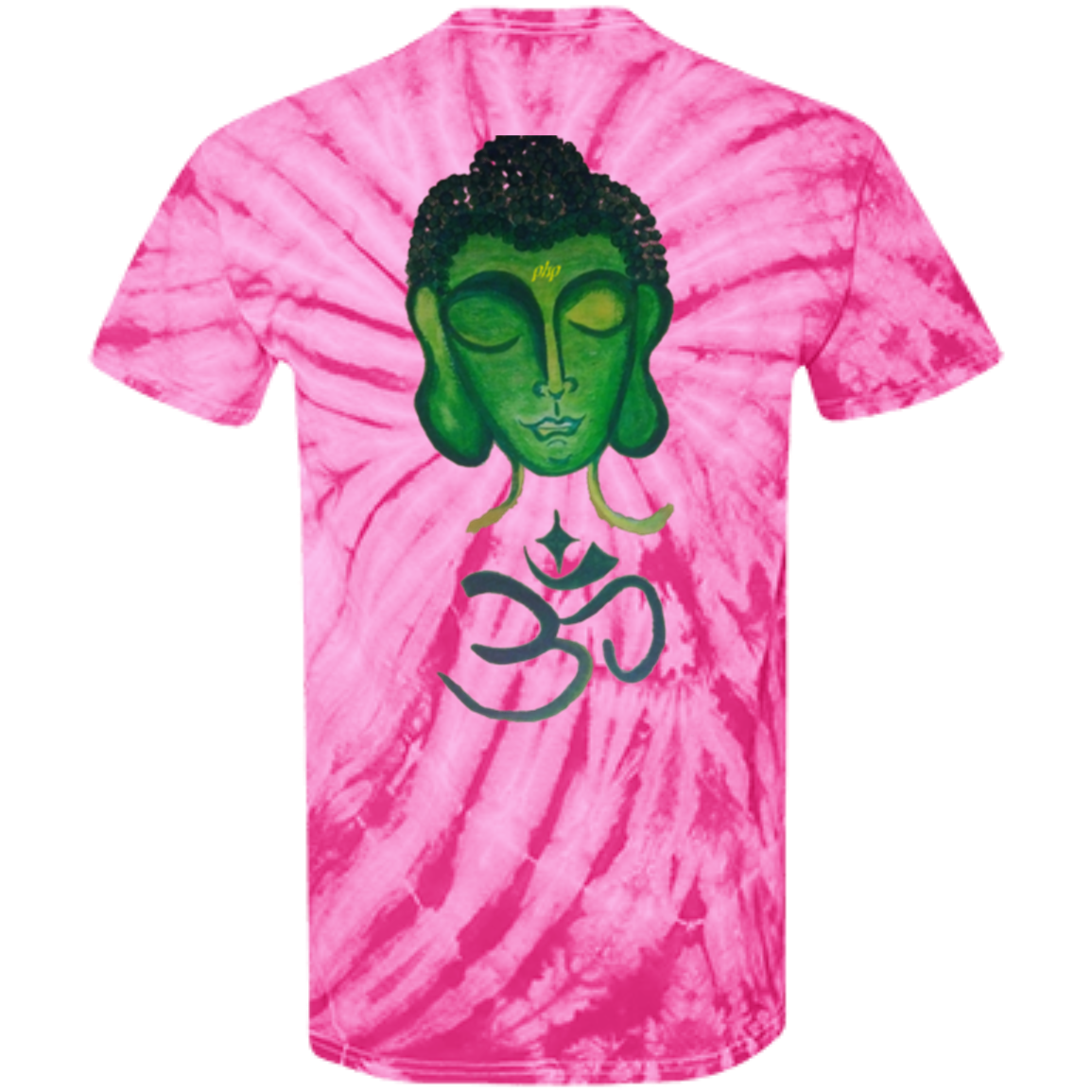 Blazzed Buddha's Cotton Tie Dye T-Shirt