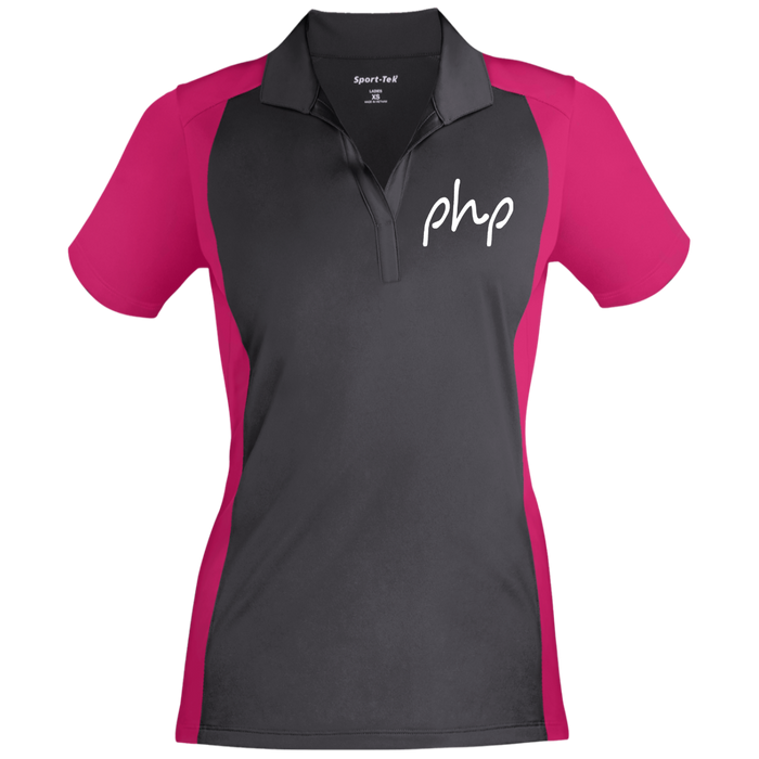 Embrodered Ladies' Colorblock Sport-Wick Polo