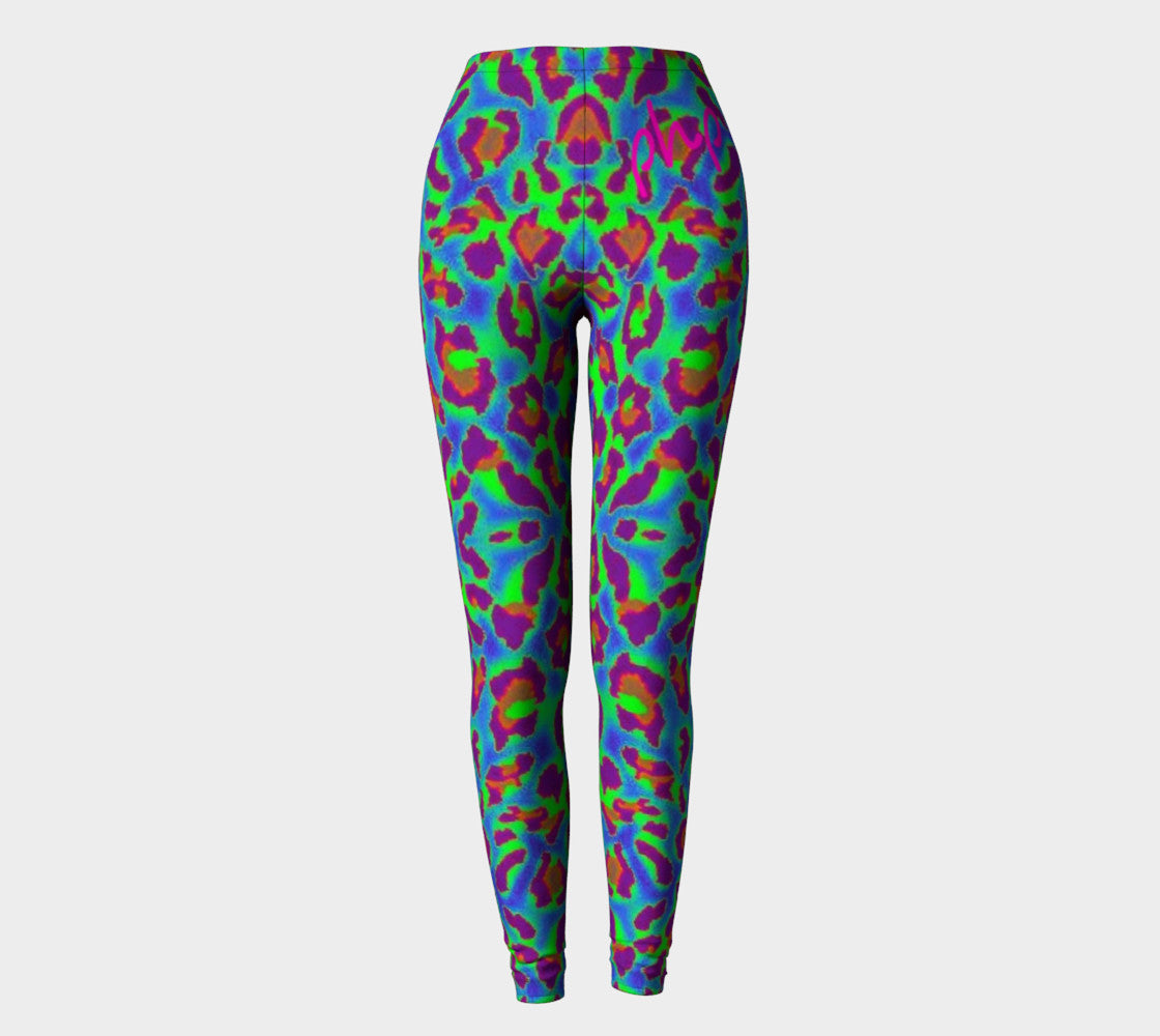 Trippy Leopard Php Leggings