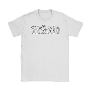 Colorado Cowgirl T-Shirt