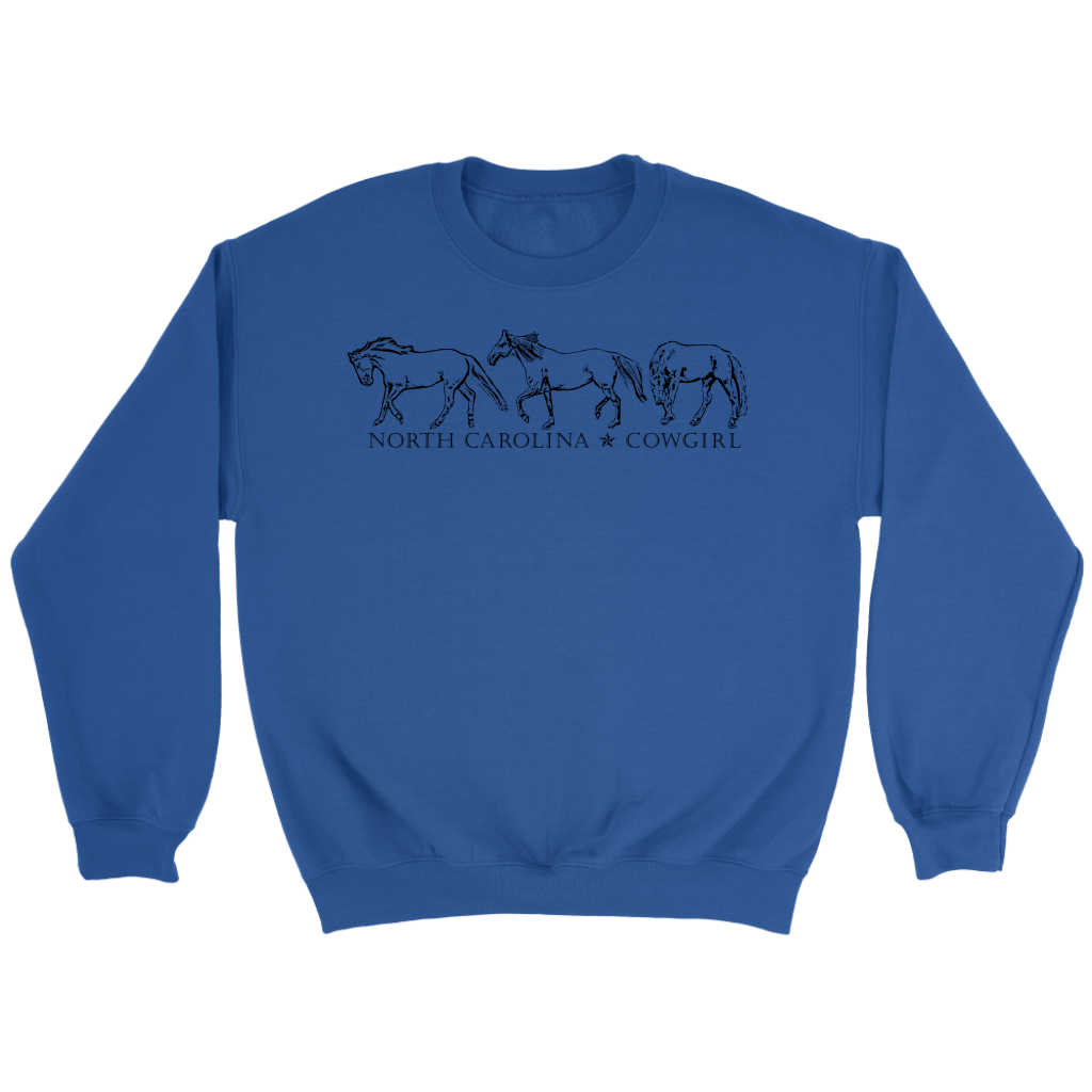North Carolina Cowgirl Sweatshirt