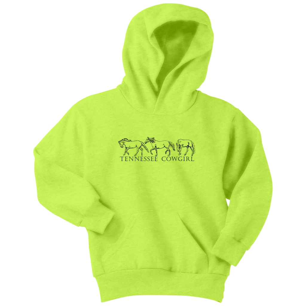 Tennessee Cowgirl Youth Hoodie