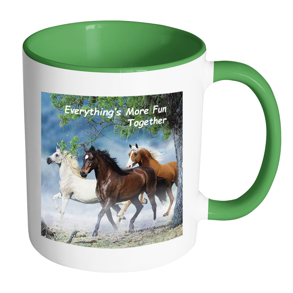 Fun Together Horse Mug