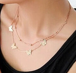Butterflies All Around Necklace
