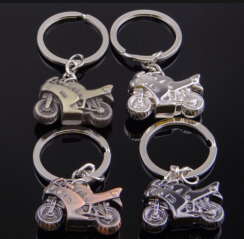 Open Road Motorcycle Key Chain