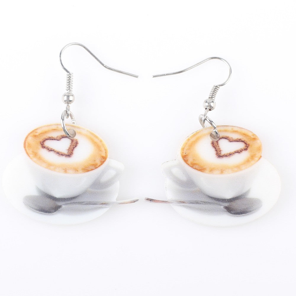 Double Latte Earrings