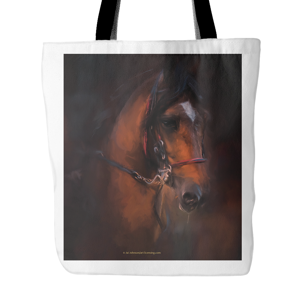 Quiet Beauty Horse Tote Bag