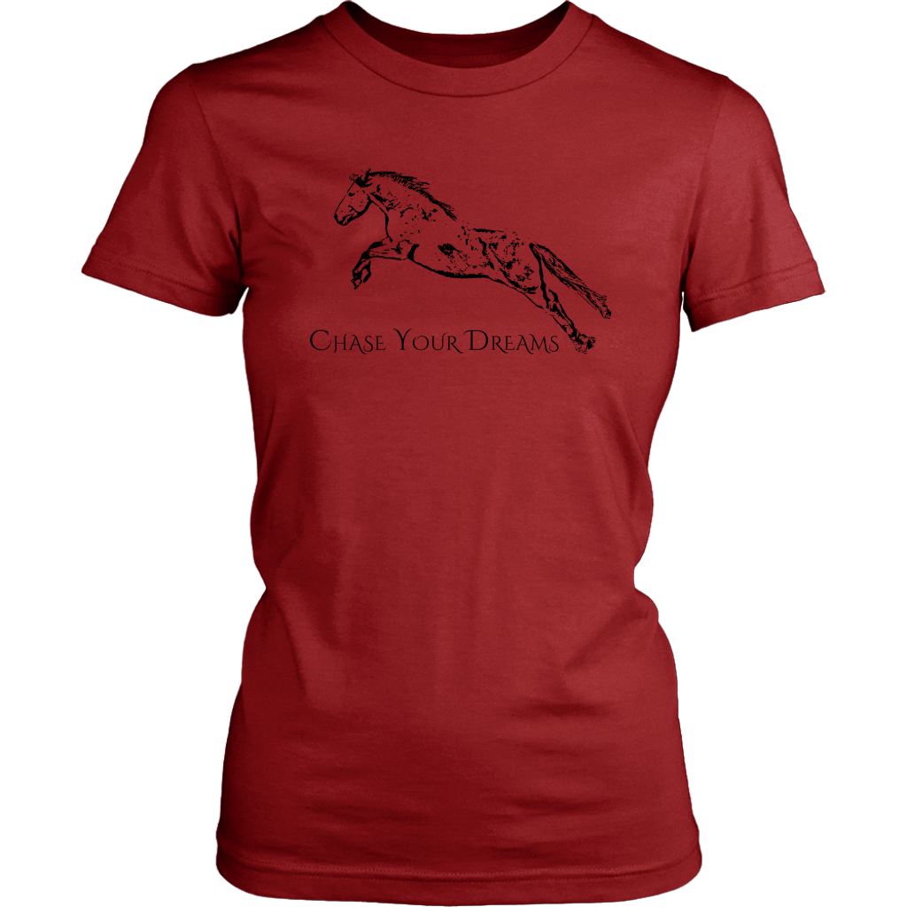 Chase Your Dreams Womens T-Shirt