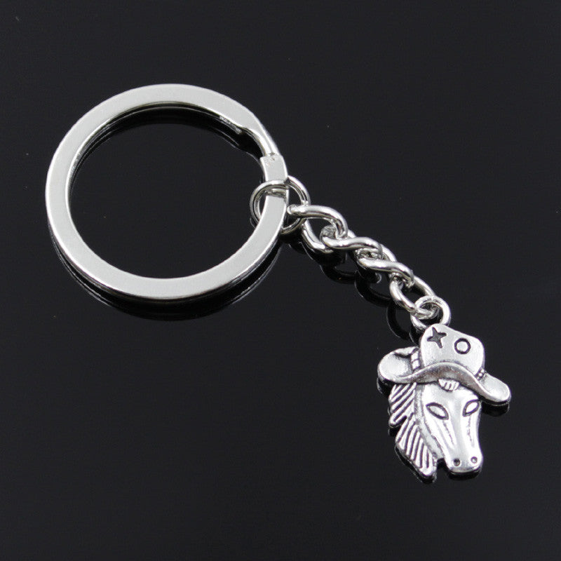 Horse-in-a-Hat Key Chain