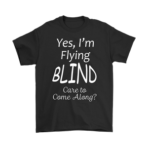 Flying Blind Men's T-Shirt