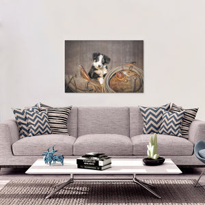 Little Helper Canvas Wall Art