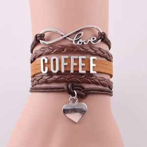 Love Coffee Bracelet