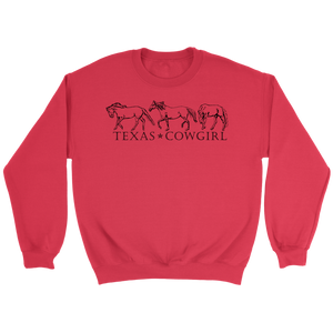 Texas Cowgirl Sweatshirt