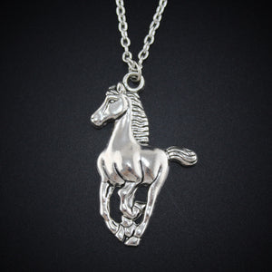 Proud Horse Necklace