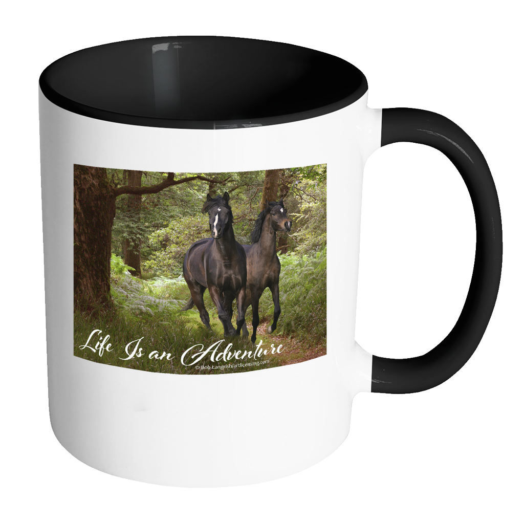 Horse Adventure Coffee Mug