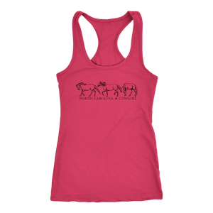 North Carolina Cowgirl Tank Top