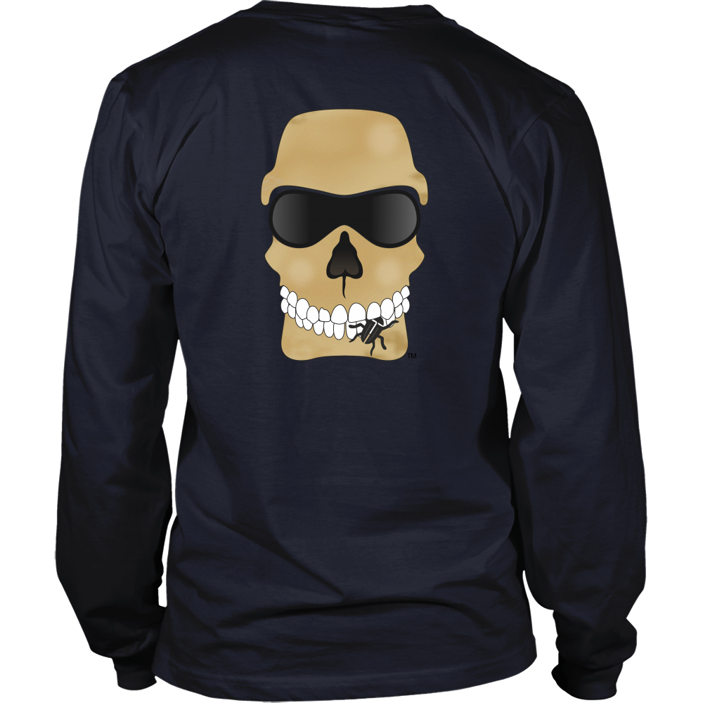 BugEater™ Biker Men's Long-Sleeve T-Shirt