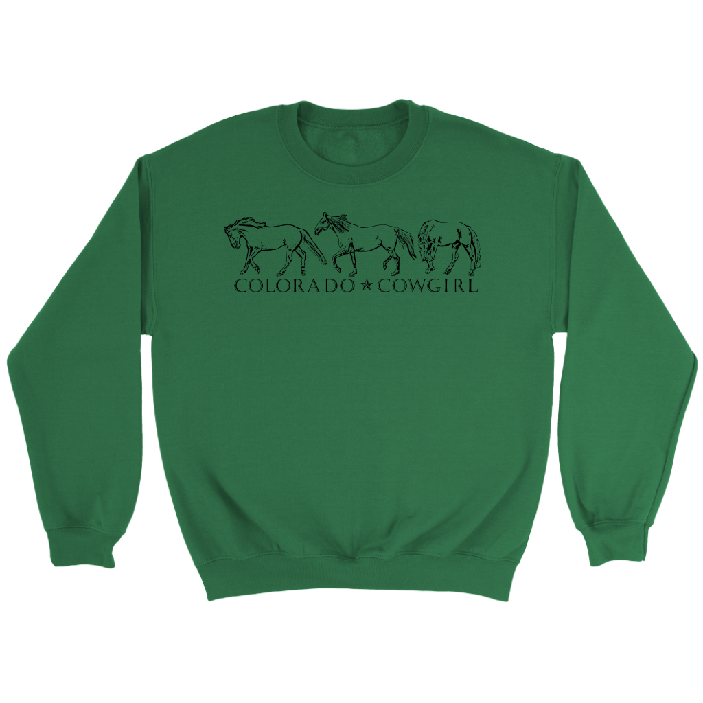 Colorado Cowgirl Sweatshirt