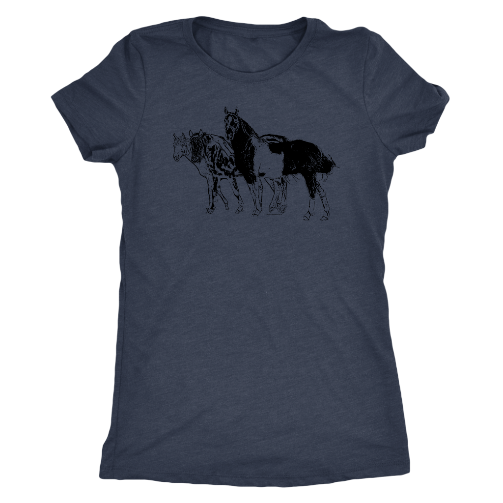 Herd of Friends Womens T-shirt