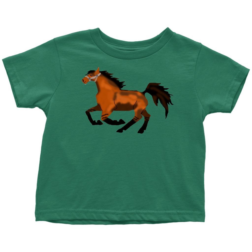 Frolicking Horse Toddler Tee