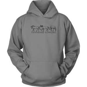 Tennessee Cowgirl Women's Hoodie
