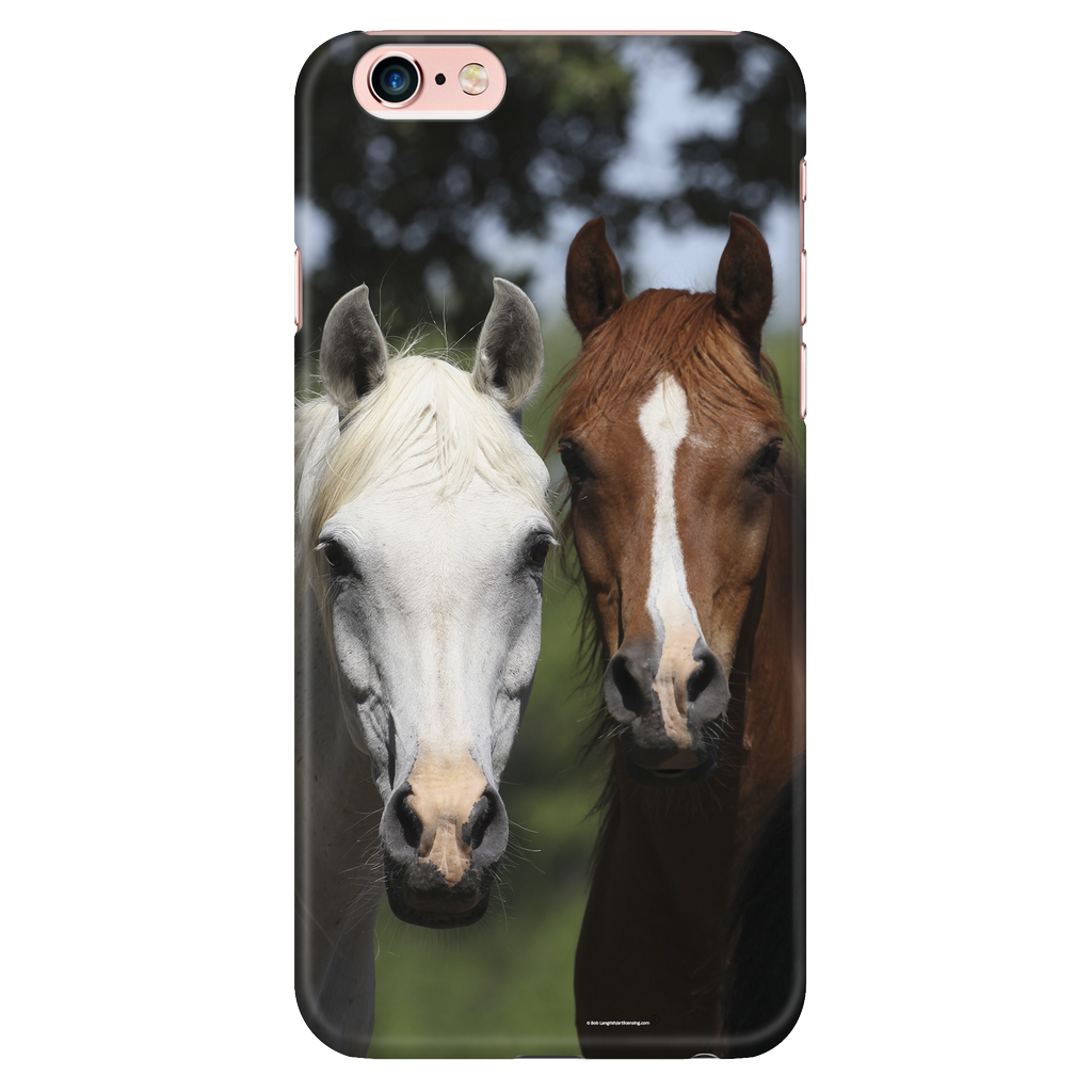 Horse Friends Cell Phone Case