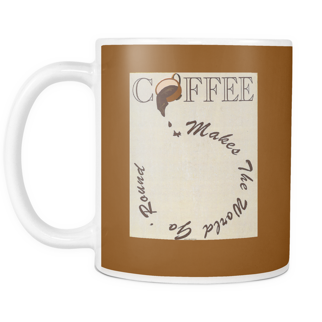 World Go 'Round Coffee Mug