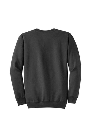 Monogram Crew neck Sweatshirt Dark Heather Grey