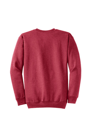 Monogram Crew neck Sweatshirt Heather Red