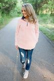 Charles River Newport Fleece Pullover Powder Pink