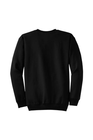 Monogram Crew neck Sweatshirt Jet Black
