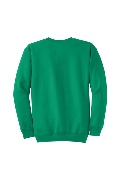Monogram Crew neck Sweatshirt Kelly Green