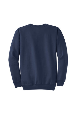 Monogram Crew neck Sweatshirt Navy