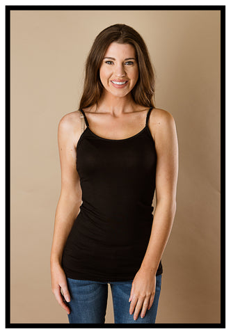 Once In A Lifetime Camisole Black