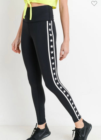 Stars and Stripes Highwaist Leggings