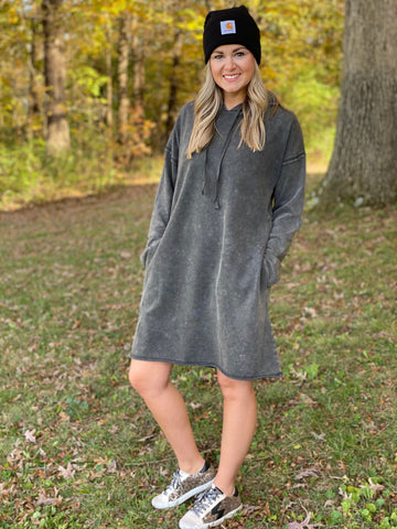 Mineral Washed Dress