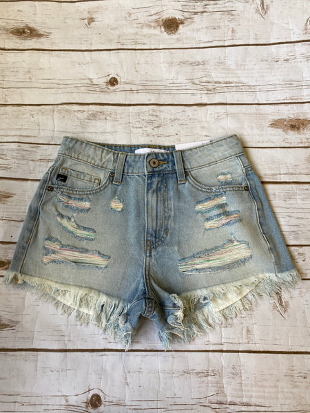 Multi Color Thread Shorts