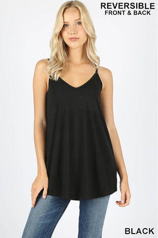 Reversible Cami-Black